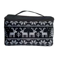 Xmas Pattern Cosmetic Storage Case