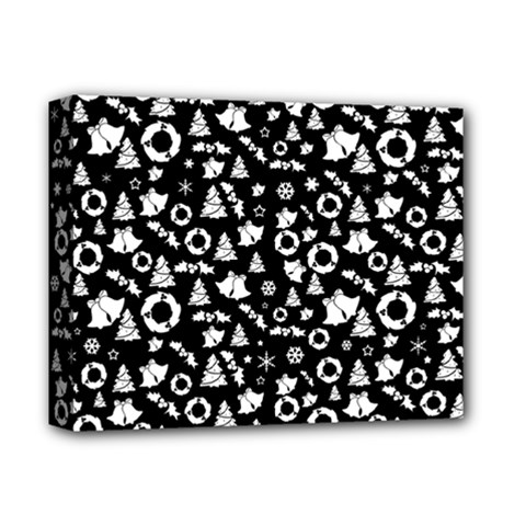 Xmas Pattern Deluxe Canvas 14  X 11