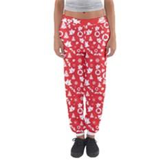 Xmas Pattern Women s Jogger Sweatpants