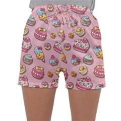 Sweet Pattern Sleepwear Shorts
