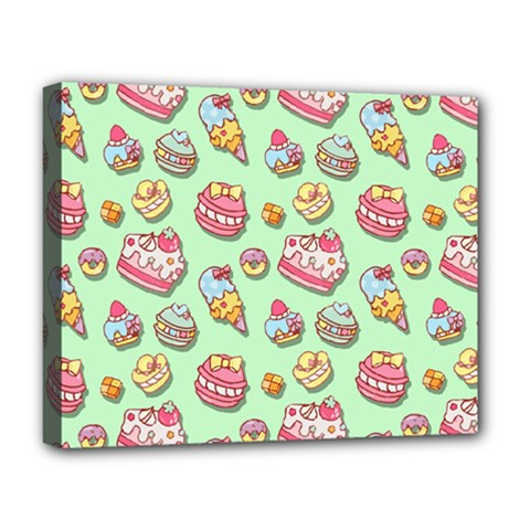 Sweet Pattern Deluxe Canvas 20  X 16