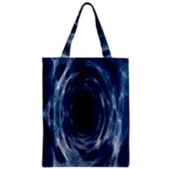 Worm Hole Line Space Blue Classic Tote Bag