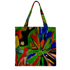 Acrobat Wormhole Transmitter Monument Socialist Reality Rainbow Zipper Grocery Tote Bag