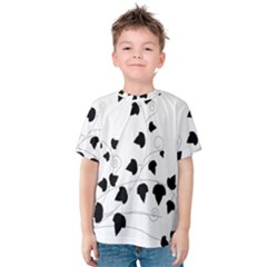 Black Leaf Kids  Cotton Tee