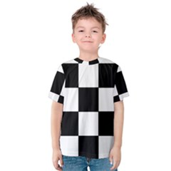 Grid Domino Bank And Black Kids  Cotton Tee