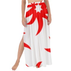 Star Figure Form Pattern Structure Maxi Chiffon Tie Up Sarong