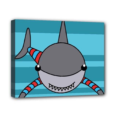 Shark Sea Fish Animal Ocean Canvas 10  X 8
