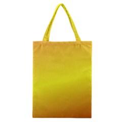 Gradient Orange Heat Classic Tote Bag