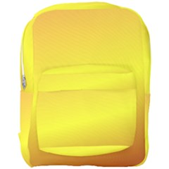 Gradient Orange Heat Full Print Backpack