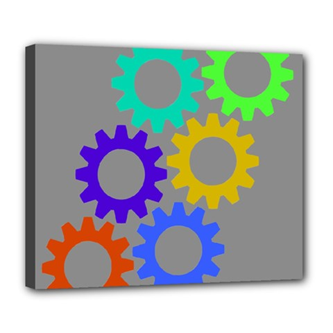 Gear Transmission Options Settings Deluxe Canvas 24  X 20