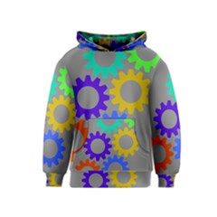 Gear Transmission Options Settings Kids  Pullover Hoodie