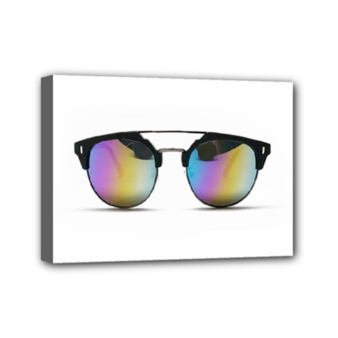 Sunglasses Shades Eyewear Mini Canvas 7  X 5