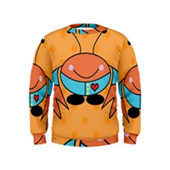 Crab Sea Ocean Animal Design Kids  Sweatshirt