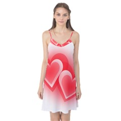 Heart Love Romantic Art Abstract Camis Nightgown