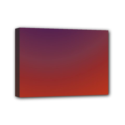 Course Colorful Pattern Abstract Mini Canvas 7  X 5