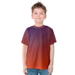 Course Colorful Pattern Abstract Kids  Cotton Tee