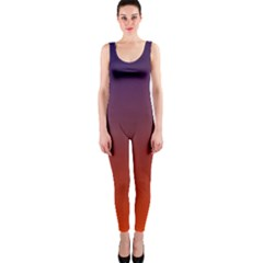Course Colorful Pattern Abstract Onepiece Catsuit