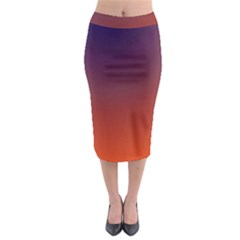 Course Colorful Pattern Abstract Midi Pencil Skirt