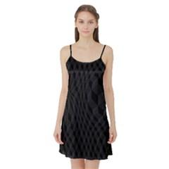 Pattern Dark Black Texture Background Satin Night Slip