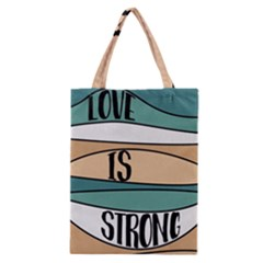 Love Sign Romantic Abstract Classic Tote Bag