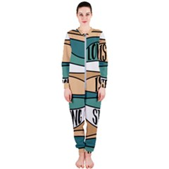 Love Sign Romantic Abstract Onepiece Jumpsuit (ladies)
