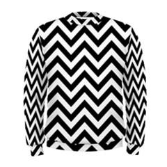 Wave Background Fashion Men s Sweatshirt