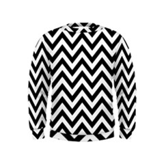 Wave Background Fashion Kids  Sweatshirt