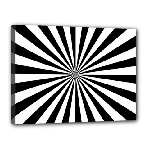 Rays Stripes Ray Laser Background Canvas 16  X 12