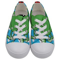 Octopus Sea Animal Ocean Marine Kids  Low Top Canvas Sneakers