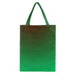 Course Colorful Pattern Abstract Green Classic Tote Bag