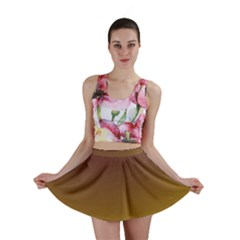 Course Colorful Pattern Abstract Mini Skirt