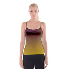 Course Colorful Pattern Abstract Spaghetti Strap Top