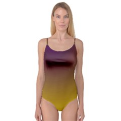Course Colorful Pattern Abstract Camisole Leotard