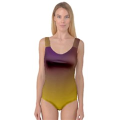 Course Colorful Pattern Abstract Princess Tank Leotard