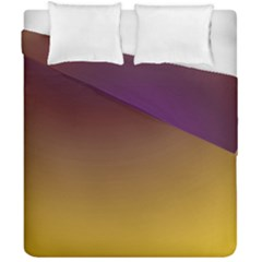 Course Colorful Pattern Abstract Duvet Cover Double Side (california King Size)