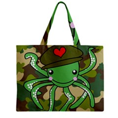 Octopus Army Ocean Marine Sea Mini Tote Bag