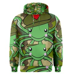 Octopus Army Ocean Marine Sea Men s Pullover Hoodie