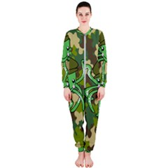 Octopus Army Ocean Marine Sea Onepiece Jumpsuit (ladies)