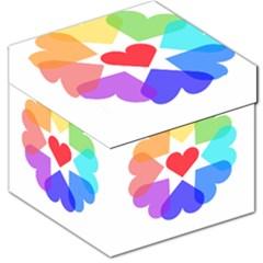 Heart Love Romance Romantic Storage Stool 12