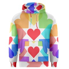 Heart Love Romance Romantic Men s Pullover Hoodie