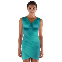 Background Image Background Colorful Wrap Front Bodycon Dress