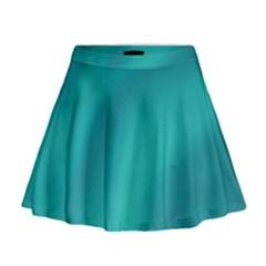 Background Image Background Colorful Mini Flare Skirt