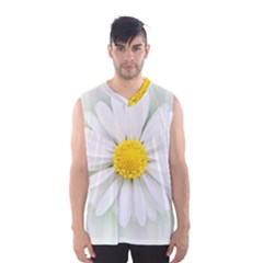 Art Daisy Flower Art Flower Deco Men s Basketball Tank Top