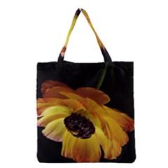 Ranunculus Yellow Orange Blossom Grocery Tote Bag