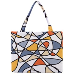 Abstract Background Abstract Mini Tote Bag