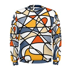 Abstract Background Abstract Men s Sweatshirt