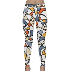 Abstract Background Abstract Classic Yoga Leggings