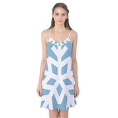 Snowflake Snow Flake White Winter Camis Nightgown