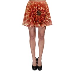 Dahlia Flower Joy Nature Luck Skater Skirt
