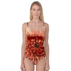Dahlia Flower Joy Nature Luck Camisole Leotard